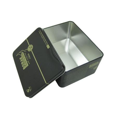 广东厂家直销长方形食品铁盒订做保健礼品铁盒