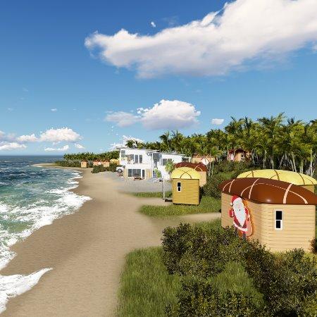 小雨木屋报价 水上木屋 小房子 木结构建筑 面包屋设计