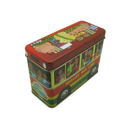 东莞厂家定制 马口铁长方形儿童玩具铁盒包装