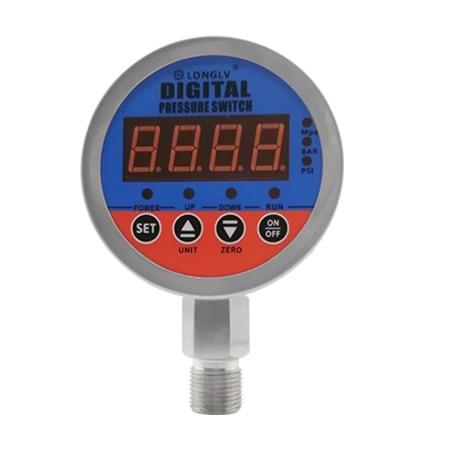 YL-819E数显电接点压力表