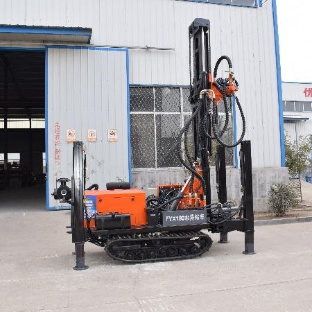 山东亿创机械设备 厂家直销FY180水井钻车打井设备 水井钻机气动打井机 履带式液压水井钻机