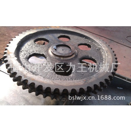 力王机械 厂家直销重力铸钢件 工业铸钢齿轮 生产工艺严谨 尺寸精确