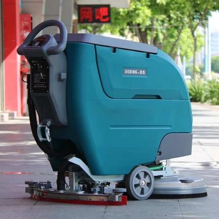 无线手推洗地机厂家直营全自动洗地机JC-C5 电动全自动洗地机