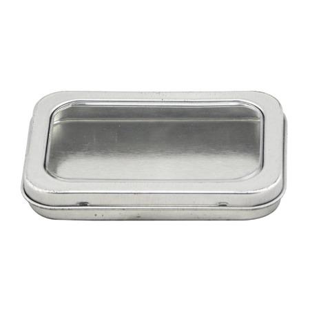 包装铁盒厂家定制 马口铁长方形 U盘铁盒