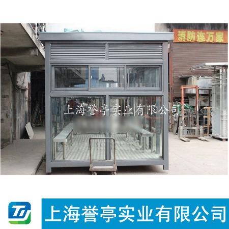 上海誉亭吸烟亭信誉根本质量说话承接定制质量可靠厂家批发