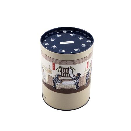 铁罐包装 广东厂家直销 马口铁圆形 存钱罐