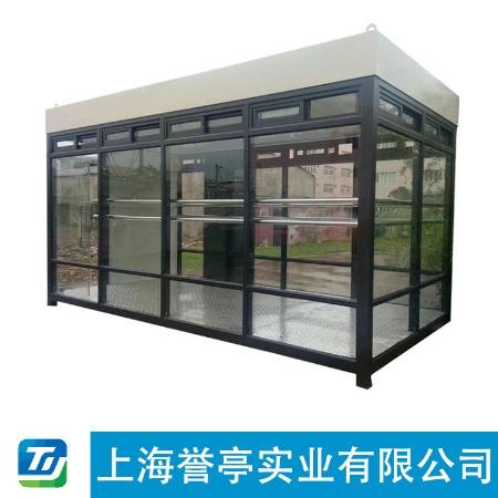 【上海誉亭】吸烟亭  信誉根本质量说话行业爆款品质服务优质服务 吸烟钢结构