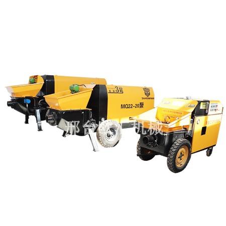 细石混凝土浇筑泵 微小型细石灌浆泵 小型混凝土输送泵