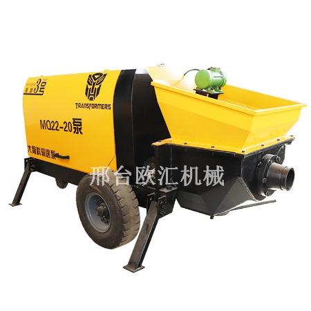 60型细石混凝土浇灌泵 细石灌浆泵 小型混凝土输送泵