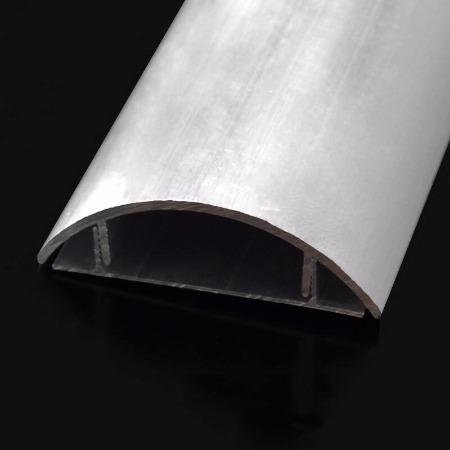 弧形铝线槽-铝合金桥架厂家 江苏南铝电气