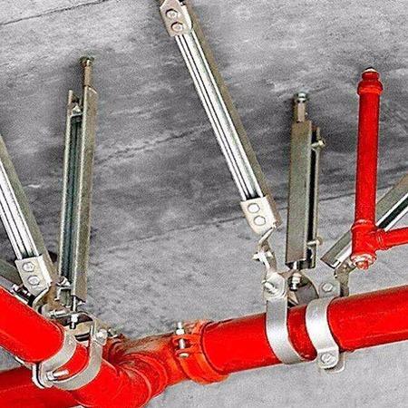 抗震支架 预埋槽道 抗震支吊架生产厂家直销