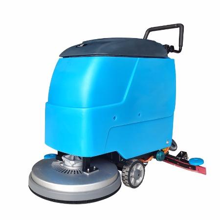 手推式全自动洗地机 电瓶拖地机 物业车间用清洁车