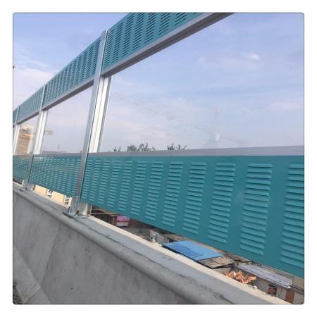 厂家供应工厂声屏障 厂区声屏障 墙体声屏障  隔音降噪板 可安装