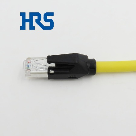 HRS连接器TM21P-88P(03)广濑8P8C屏蔽水晶头带尾夹工业网线插头原装现货批发