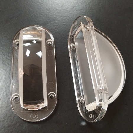 80窗台灯透镜角度01*180度窄光透镜一束光洗墙灯透镜