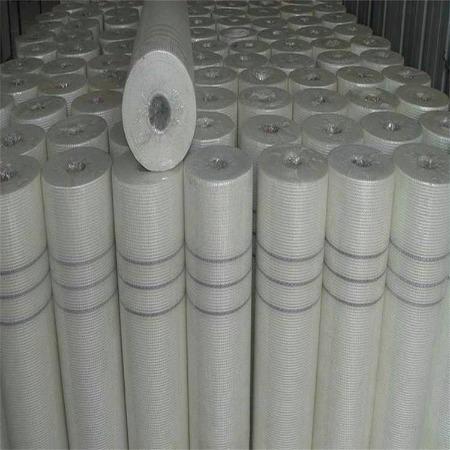 厂家生产建筑保温 内墙网格布 工地抹灰抗裂 玻璃纤维网格布批发
