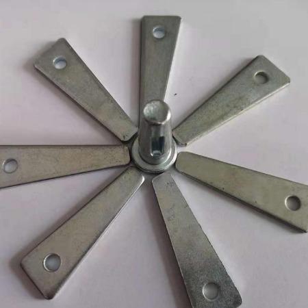 厂家热销空心铝模板销钉配件 3.5*70 铝模板定位销钉钢支撑大量现货供应