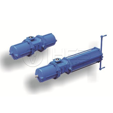 温州气动执行器生产厂家专业生产AW系列气动执行器价格优惠品质保证 华尔士