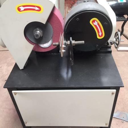 小型台式圆管抛光机外圆抛光机不锈钢拉丝机铝合金打磨机