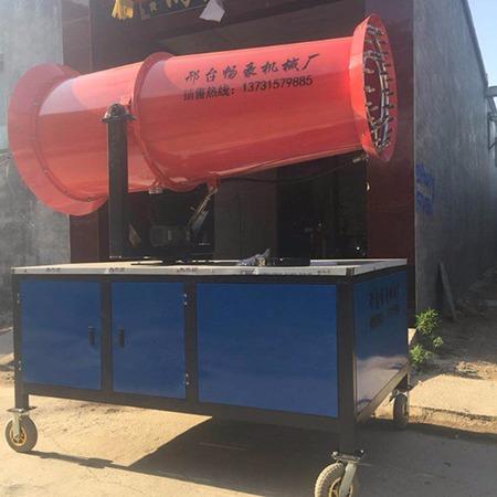 畅豪车载式雾炮机  60米全自动环保喷雾机 大型雾炮机出厂价格