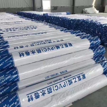 pvc防水卷材 聚氯乙烯pvc耐根穿刺防水卷材 高分子自粘防水卷材 PVC耐根穿刺防水卷材高分子外露