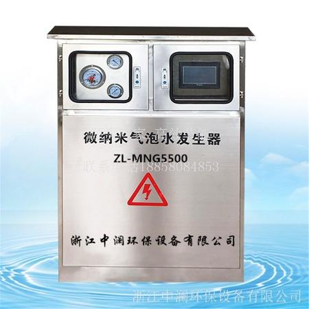浙江中澜ZL-MNG微纳米气泡发生器 纳米级气泡黑臭水体治理