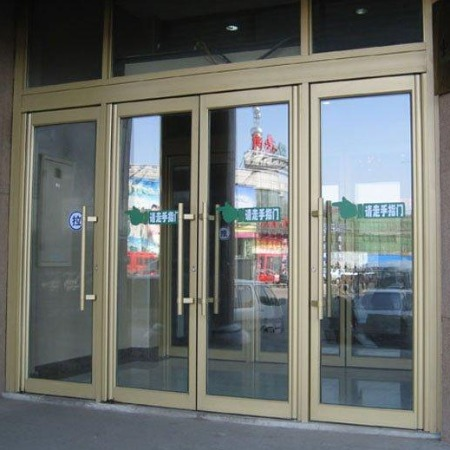 金玛龙商务门 佛山肯德基门厂家 肯德基门批发 肯德基门价格 酒店店铺大门