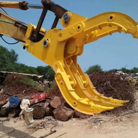 挖掘机抓木器 旋转抓木器 抓石器厂家供应直销