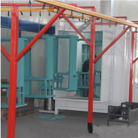 山东静电喷涂设备 静电喷涂设备安装 涂装流水线
