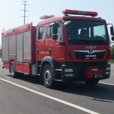 JDF5160GXFAP40型德国曼压缩空气泡沫消防车价格