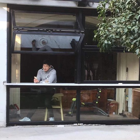 广州上下折叠窗 厂家直销 随意停位