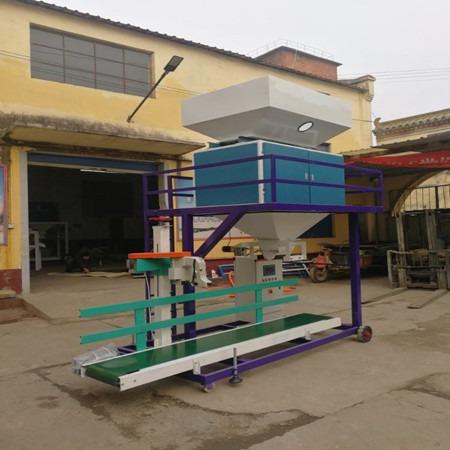 决明子葵花籽菜籽油菜籽棉籽种子10-60kg计量称重封口定量包装机自动灌包机