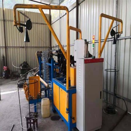 利沃生产厂家 双丝全自动勾花网机 矿用丝网机械 煤矿织网机 丝网加工设备 机械设备