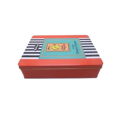 铁盒厂家批发 马口铁长方形 彩印饰品包装铁盒