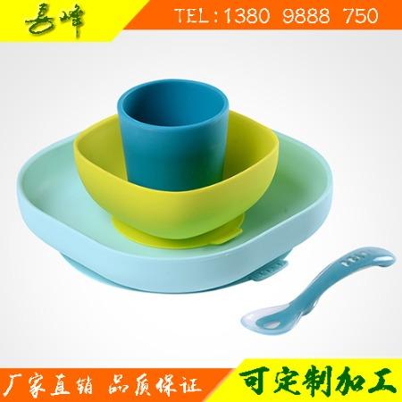 硅胶儿童餐具-硅胶折叠餐具-硅胶厨房餐具-硅胶餐具产品厂家