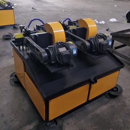 昌和机械 全自动多工位外圆抛光机 台式圆管除锈打磨抛光机