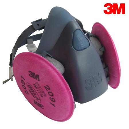 3M7502防毒面具批发硅胶防甲醛异味