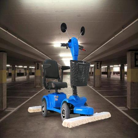 现货供应电动尘推车 电动拖地车 工厂车间商场超市用