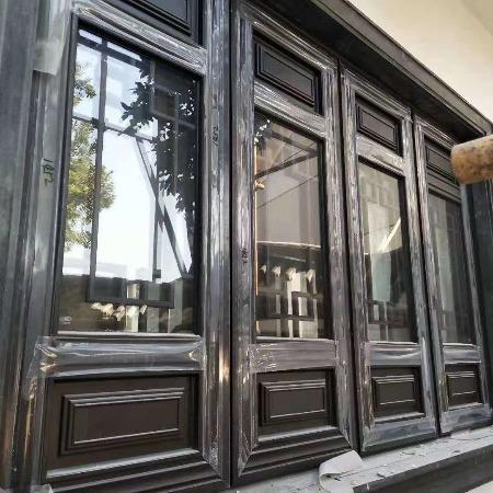 中式鋁合金門窗 杭州中譽