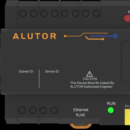 阿尔尤特 系统通用 AT-GW01 网关 RJ45接口 智能家居通讯模块