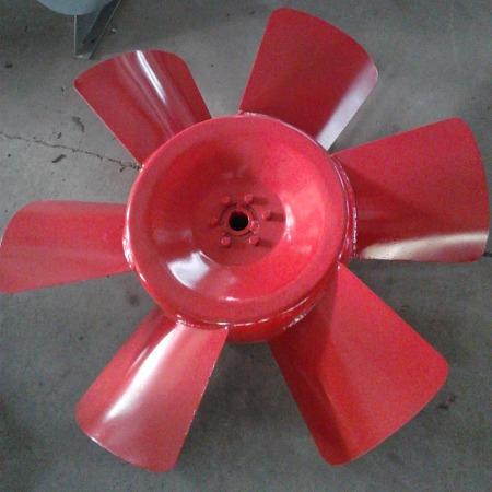 德州亚创厂家供应风机配件 叶轮 离心风机叶轮 可定制