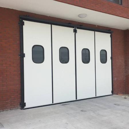 大型工业门厂家批发 工业门种类齐全 大型平开门 质量可靠