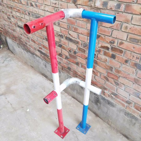 厂家直销护栏立柱 建筑防护栏扶手立杆 F型干型立柱立杆