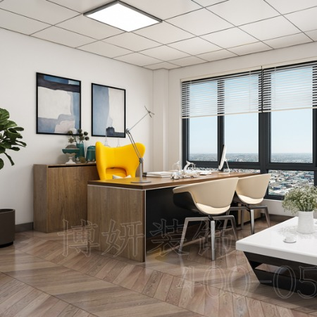 杭州办公室装修首选[博妍装饰]-办公室设计选择的大型装修公司-实力雄厚-工期短-质量优