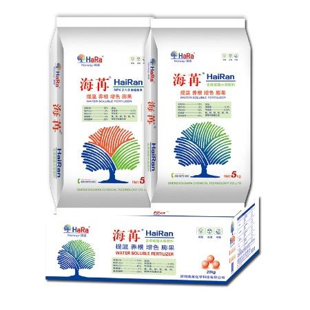 粉剂生根膨果着色壮苗 氮磷钾13-3-10 抗病抗逆海苒含腐植酸水溶肥黄腐酸钾