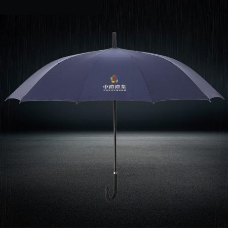 中礼礼业直杆伞定制全自动方便纯色雨伞LOGO定制