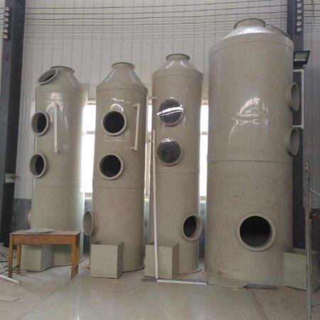 荣信环保设备pp洗涤塔 喷漆废气处理喷淋塔 酸碱废气洗涤塔 厂家定制