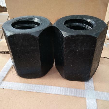 精轧螺纹钢螺母 精轧螺母又称精轧螺纹钢螺帽 现货供应