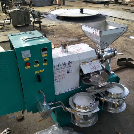 单相螺旋榨油机厂家 移动式榨油机价格 新型食用油榨油设备·