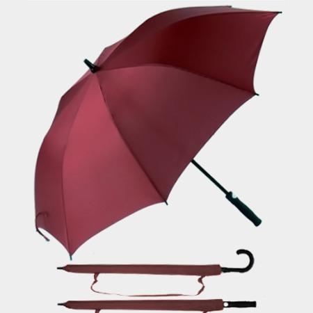 中礼礼业雨伞定制印logo长柄广告伞批发商务礼品大号自动高尔夫晴雨伞印字